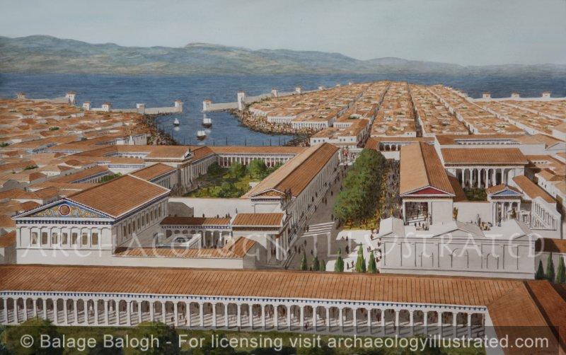 Miletus City Center and Harbor, Western Turkey, 2nd century AD - Archaeology Illustrated