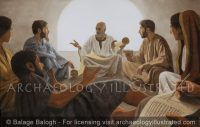 Paul the Apostle in a House Church - Archaeology Illustrated