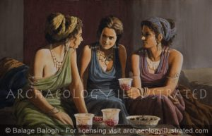 Roman Ladies - Archaeology Illustrated