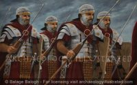 Roman Legionaries on the March - Archaeology Illustrated
