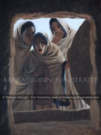 Mary Magdalen, Mary, Mother of James and Salome Witness the Resurrection (Mark 16) - Archaeology Illustrated