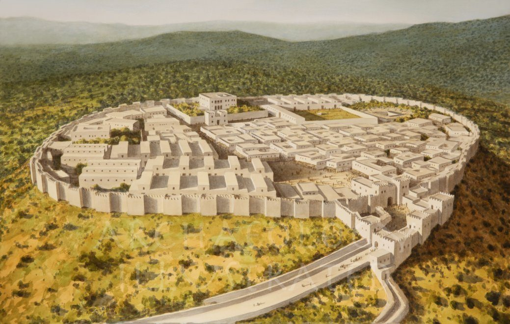 Megiddo under King Ahab, 9th century BC - Archaeology Illustrated