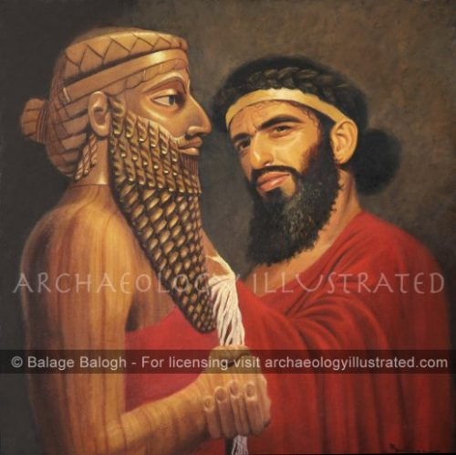 Naram Sin, King of Sumer and Akkad, 23rd century BC - Archaeology Illustrated