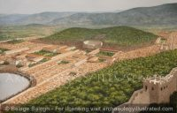 Ephesus. View from the summit of Bulbuldag in the 2nd century AD - Archaeology Illustrated