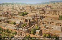 Jerash (Gerasha), Jordan. The Artemis Temple Complex and Grand Entrance, 2nd century AD - Archaeology Illustrated