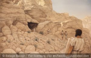 Qumran, Cave 1 - Archaeology Illustrated
