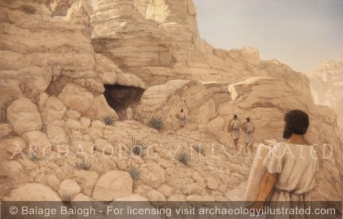 Qumran Cave 11, 1st century BC - Archaeology Illustrated