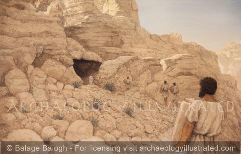 Qumran Cave 11, 1st century BC - Archaeology Illustrated