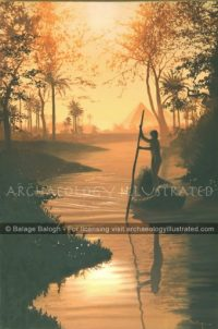 Nile, Side Canal - Archaeology Illustrated