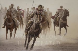Alexander the Great Leading a Cavalry Charge - Archaeology Illustrated