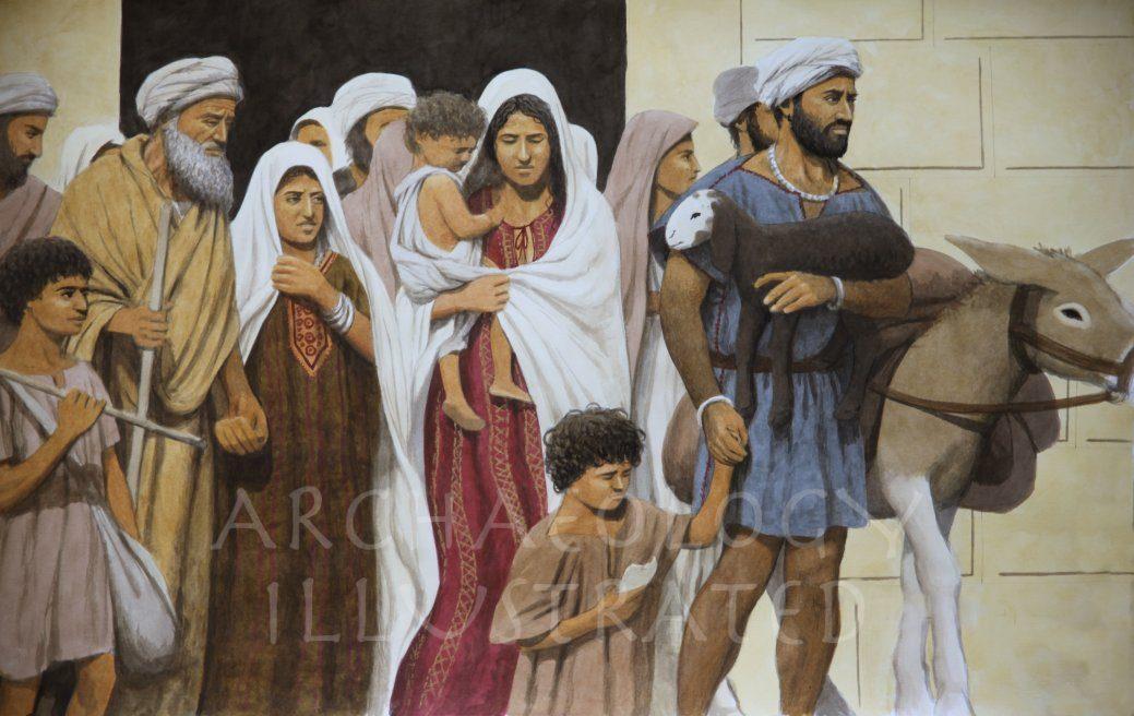 Jewish Pilgrims in Jerusalem - Archaeology Illustrated