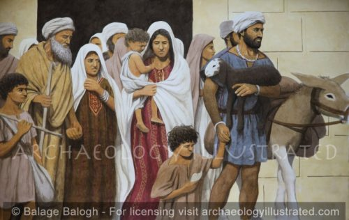Jewish Pilgrims in Jerusalem - Archaeology Illustrated