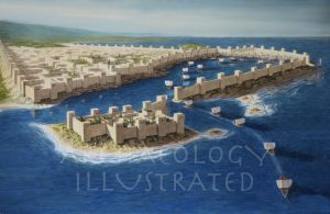 The Port of Sidon, Phoenicia, in the Iron Age - Archaeology Illustrated
