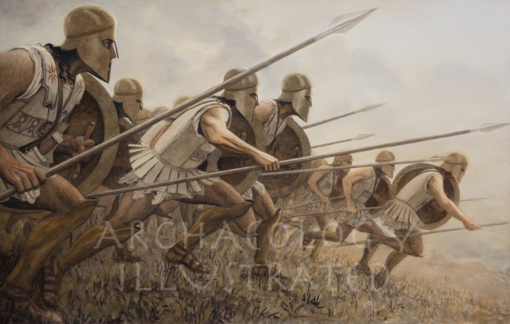Ancient Greek Hoplites, 5th century BC - Archaeology Illustrated