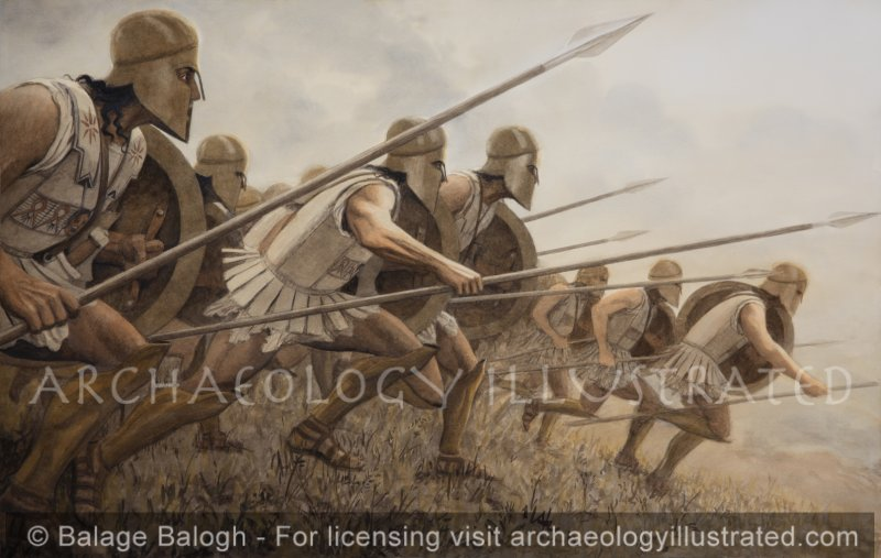Ancient Greek Hoplites, 5th century BC - Archaeology Illustrated