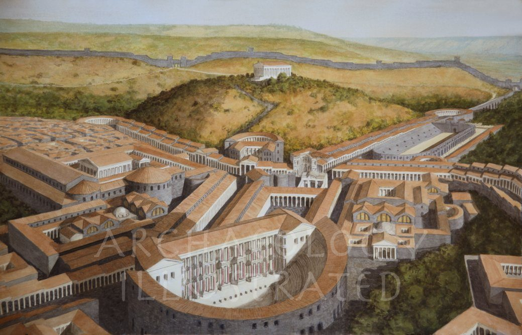 Beth Shean City Center and the Jordan Valley, Israel, Regional Capital in the Late Roman Period - Archaeology Illustrated