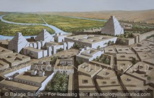 Ashur (Assur) on the River Tigris, the Religious Capital of Assyria in the Middle Assyrian Period 15th-11th centuries BC - Archaeology Illustrated