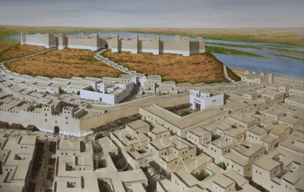 Karchemish (Carchemish) on the Euphrates, between Syria and Turkey,  The Hittite City in the Late Bronze Age - Archaeology Illustrated