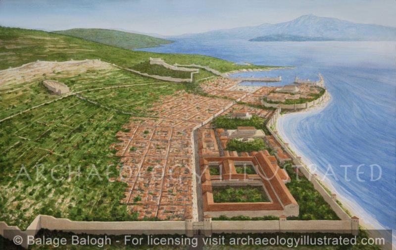 The Hellenistic city of Samos on Samos Island, Birthplace of Pythagoras - Archaeology Illustrated