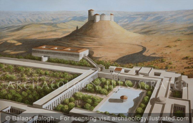 The Herodium in the Judean Desert, 1st century BC - Archaeology Illustrated