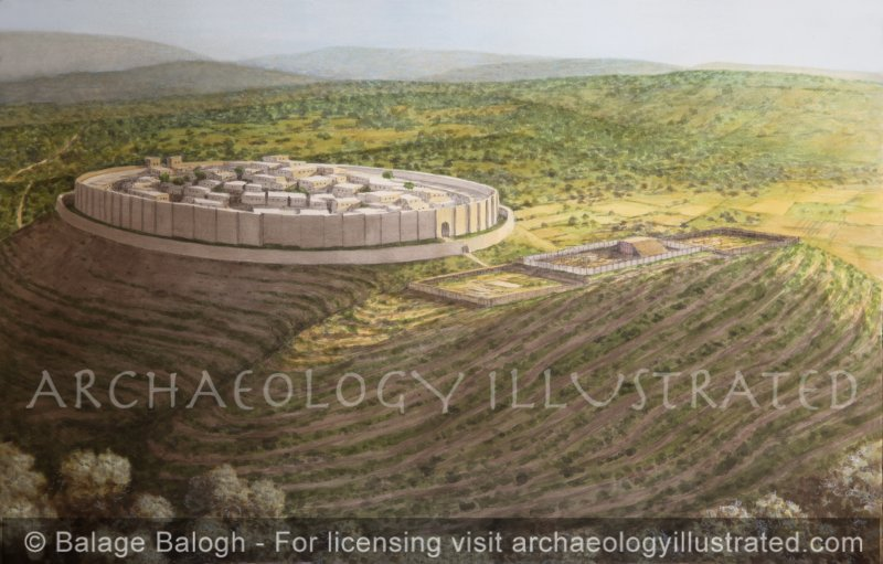 Shiloh and the Tabernacle, 11th century BC - Archaeology Illustrated