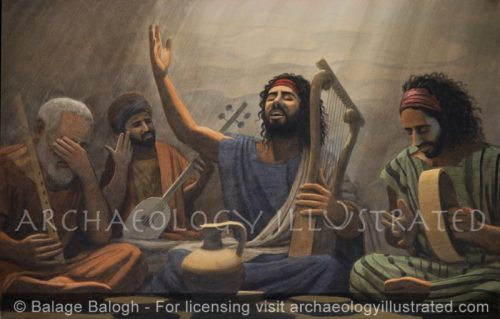 """Sing Psalms in the Lord's honor with the lyre"" (Psalm 98) - Archaeology Illustrated"