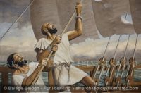 Phoenician Sailors Somewhere on the Mediterranean Sea - Archaeology Illustrated