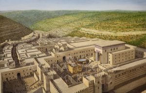 The Temple of Solomon, Jerusalem, Aerial View Looking South. Late 10th and 9th century BC - Archaeology Illustrated