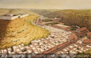 Amman, Jordan, in the Roman Period - Archaeology Illustrated