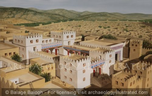 Hatzor/Hazor, The Late Bronze Age Temple-Palace on the Acropolis - Archaeology Illustrated