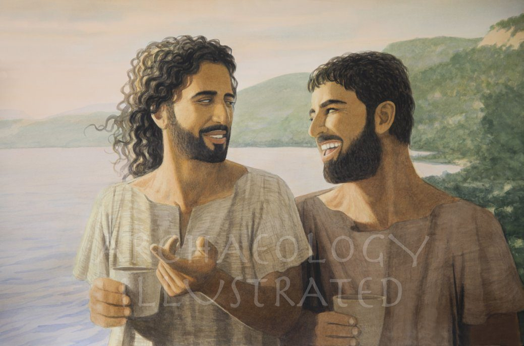 Jesus and Peter - Archaeology Illustrated