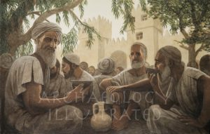 Builders of the Temple of Solomon Resting After Work - Archaeology Illustrated