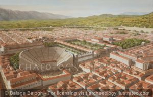Aphrodisias in the Roman Period, Southern Turkey, 2nd-3rd centuries AD - Archaeology Illustrated