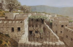 "Nazareth, Reconstruction of the Remains of a House under the ""Sisters of Nazareth Convent"" Proposed to be that of Jesus's Childhood Home - Archaeology Illustrated"
