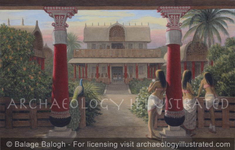 Mathura, Ancient Indian and Gandhara Palace Architecture in the Mauryan and Kushan Periods, 4th Century BC through 3rd Century AD - Archaeology Illustrated