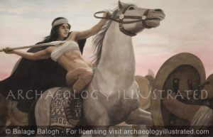 Amazon and Greeks - Archaeology Illustrated