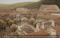 The Agora of Argos, Greece, with its Many Water Fountains in the Roman Period, 1st Century AD - Archaeology Illustrated