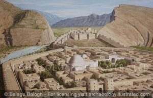 The Palace Quarter of Bishapur, Persia. A Major City in the Sasanian Empire. 3-7th centuries AD - Archaeology Illustrated