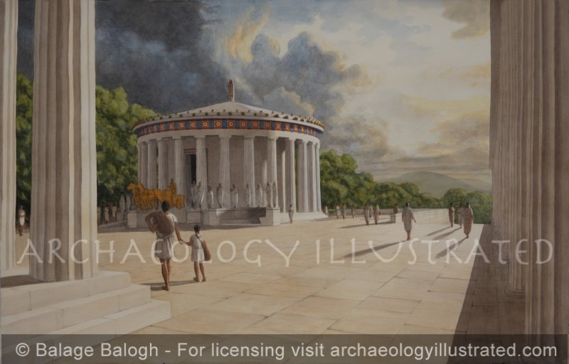The Tholos of Epidauros, Hellenistic Period Healing and Dream Therapy Center, 4th Century BC – 4th Century AD - Archaeology Illustrated