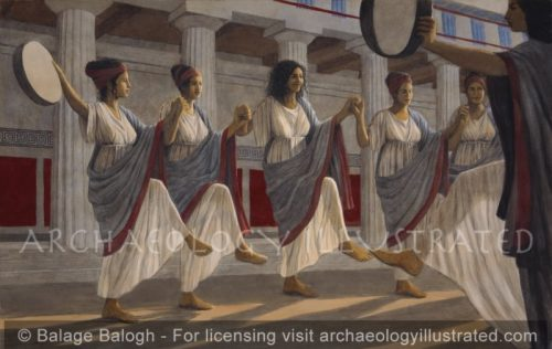Kore Dancers in Ancient Greece - Archaeology Illustrated