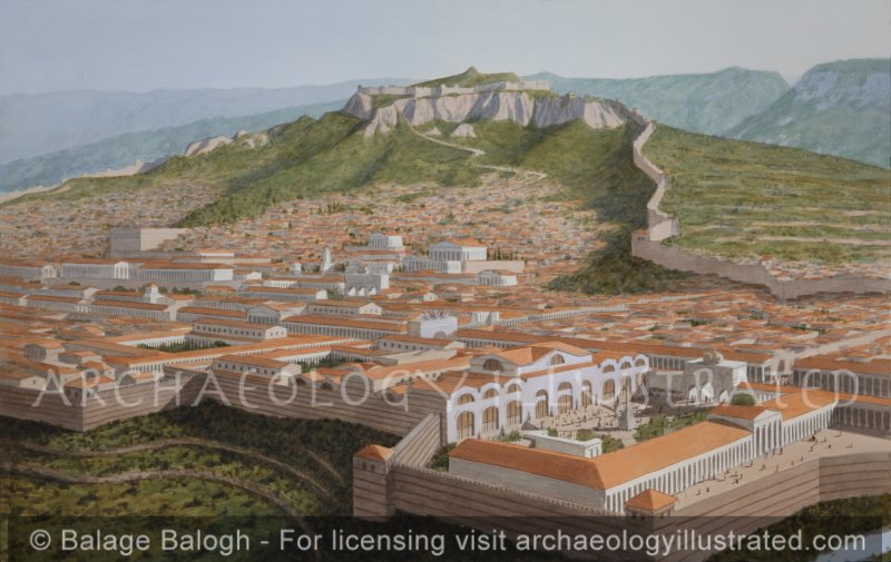 Sardis and the Great Bath House in the Roman Period, 2nd Century AD, Western Turkey - Archaeology Illustrated