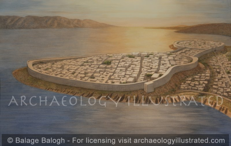 Old Smyrna, Birth Place of Homer, the Early Greek Colony on the North Shore of the Bay of Izmir, late 7th century BC - Archaeology Illustrated