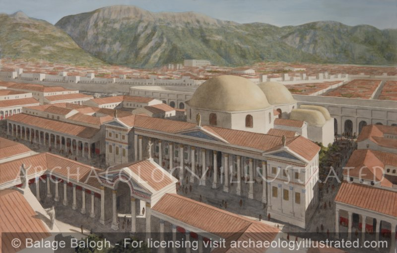 """Antioch on the Orontes, the Late Roman Period """"Bath C"""" on the Palace Island - Archaeology Illustrated"""