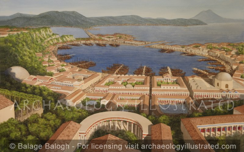 Baiae: Luxury Thermal Baths and Pleasure Pools in the Bay of Naples, Roman Imperial Period - Archaeology Illustrated