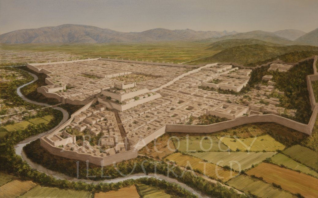 Taxila (the Sirkap settlement), Gandhara, Punjab Region, in the Indo-Greek, Indo-Parthian and Kushan periods, 1st century BC-2nd century AD - Archaeology Illustrated