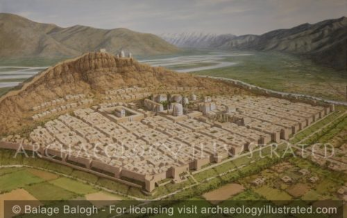 Barikot, (Ancient Bazira) and the Swat Valley in the Kushan Period, 2nd-4th Century AD (Created with Dr. Luca Maria Olivieri) - Archaeology Illustrated