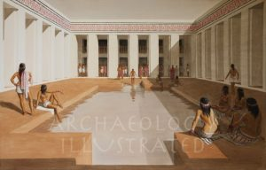 Indus Valley Civilization: Mohenjo Daro, The Great Bath, 25th century BC - Archaeology Illustrated