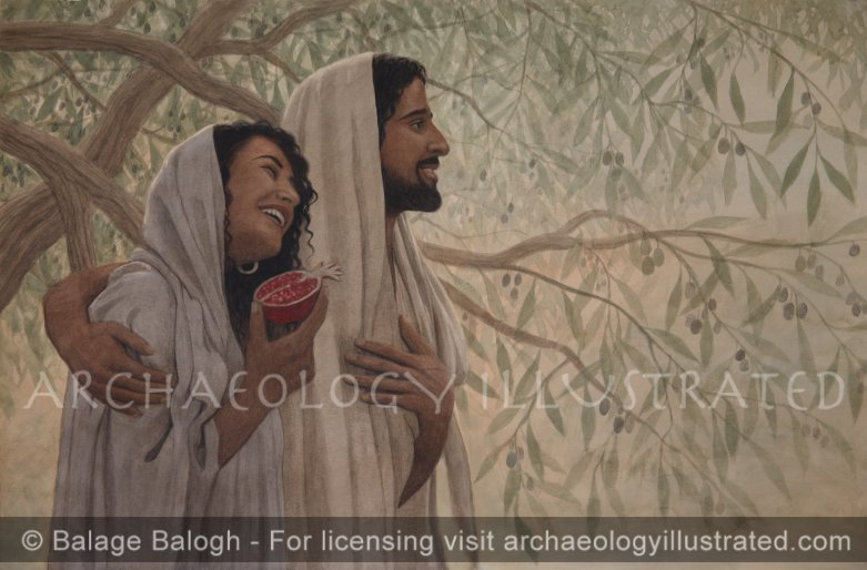 Mary Magdalene and Jesus - Archaeology Illustrated