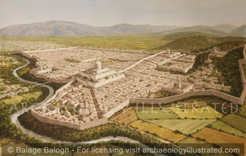 Taxila, The Sirkap Settlement, NW Pakistan, in the Indo-Greek and Kushan Periods. 1st Century BC-AD - Archaeology Illustrated