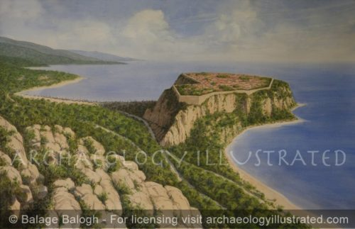 The Greek Colony of Monaco, on the Mediterranean Coast of France, 5th century BC - Archaeology Illustrated